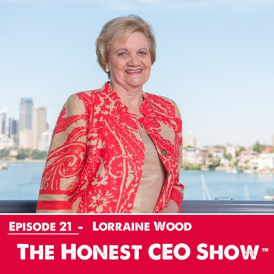 Lorraine-Wood on the Honest CEO Show
