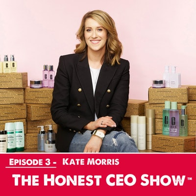 Kate Morris the founder and CEO of Adorebeauty.com.au