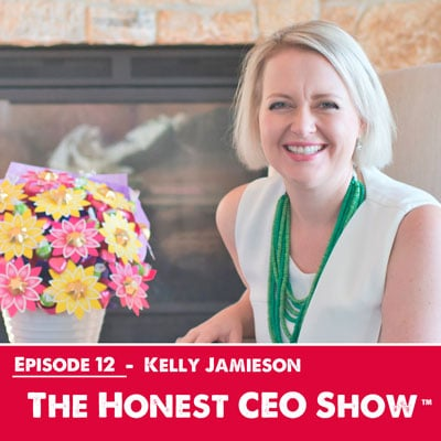 Highly successful entrepreneur, Kelly Jamieson from Edible Blooms