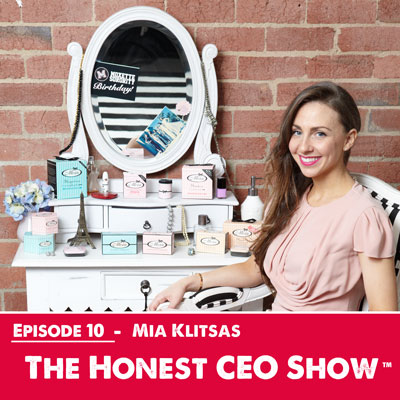 Mia Klitsas founder and CEO of Millie & More